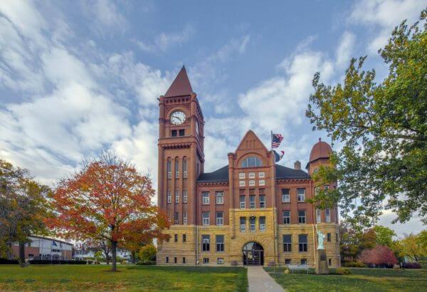 Virtual tour fairfield courthouse
