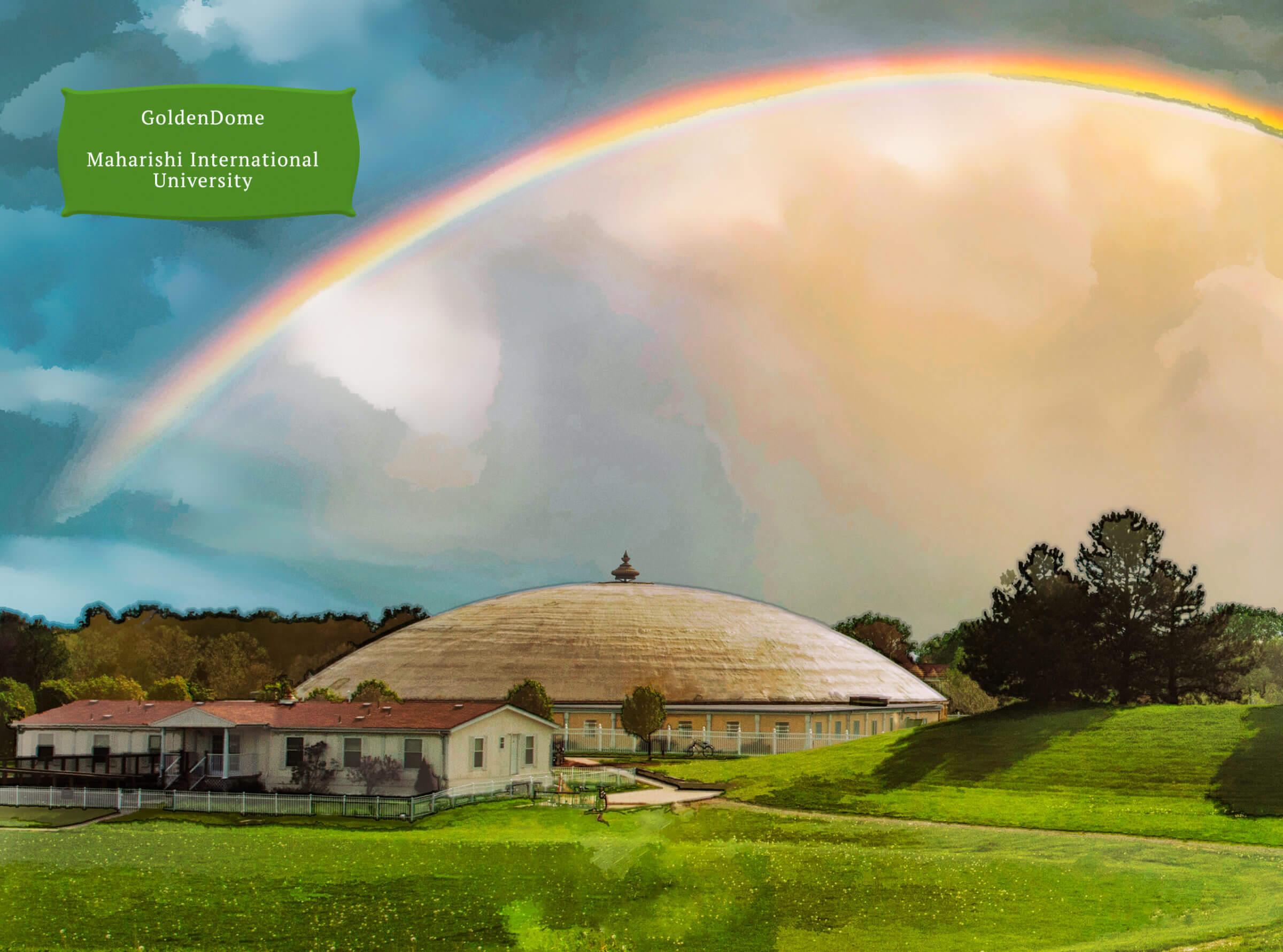 Golden Dome Maharishi Internaional University