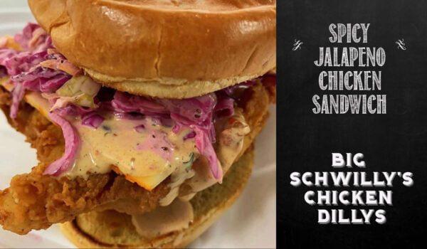 spicy chicken sandwich Fairfield, Iowa