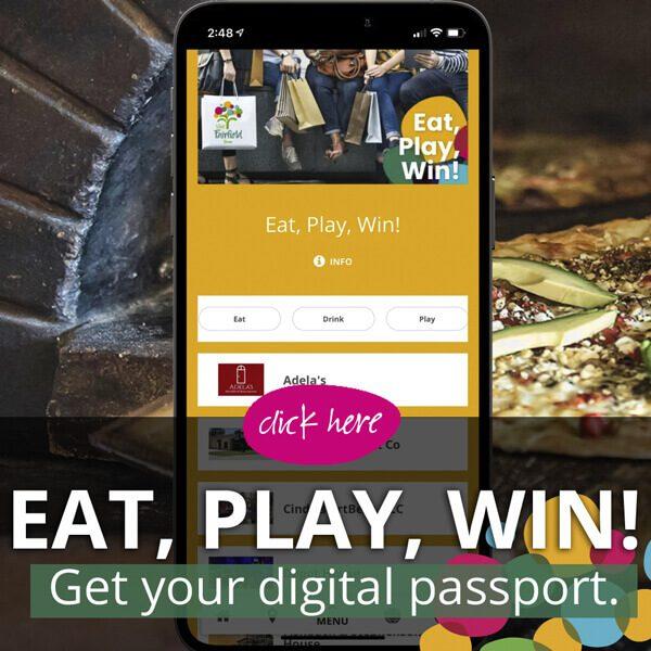 Eat, Play, Win! Get your digital passport. Click Here.